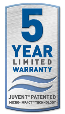 juvent 5 year warranty lolo