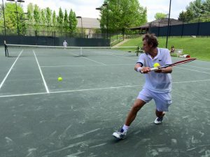 Mats Wilander, Tennis Legend, Now Plays Without Pain