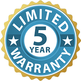 Five Year Limited Warranty