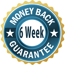 Six Week Money Back Guarantee